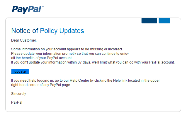 pshishing-paypal-notice-of-policy-update